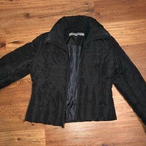 Black Puffy Kenneth Cole Coat